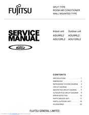 fujitsu asu9rl2 manuals rh manualslib com Repair Manuals Service Station