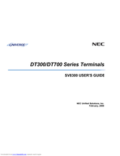 nec dt700 series manuals rh manualslib com NEC DT700 Setup NEC DT700 Phone Display