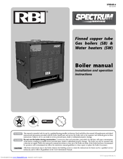 Rbi Dominator Manuals - Rbi dominator boiler wiring diagram