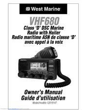West Marine VHF680 Manuals