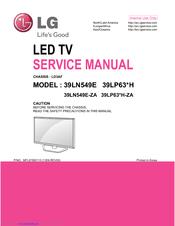 Lg 39ln549e Manuals Manualslib