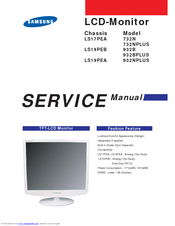 Samsung SyncMaster 932BPlus Service Manual