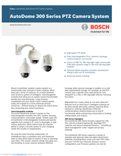 Bosch 300 Series User Manual