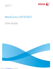 Xerox WorkCentre 5021 User Manual