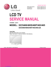 lg 32cs460 service manual pdf download rh manualslib com lg lcd tv owner's manual lg lcd service manual