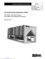 mcquay ags 120cs h installation and maintenance manual pdf download rh manualslib com McQuay Geothermal Heat Pumps McQuay Air Cooled Chiller
