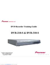 pioneer dvr 310 s manuals rh manualslib com DVR Recorders Walmart TV DVR Recorder without Subscription