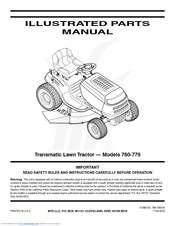 mtd 760 illustrated parts manual pdf download760 770 Lawn Tractor Wiring Diagram #10