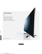 loewe individual 55 compose led 400 manuals rh manualslib com Loewe TV Tables Loewe TV 2017