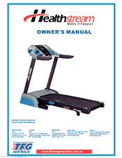 health stream treadmill manuals rh manualslib com matrix treadmill owners manual nordictrack treadmill owners manual