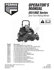 FERRIS IS5100Z SERIES OPERATOR'S MANUAL Pdf Download