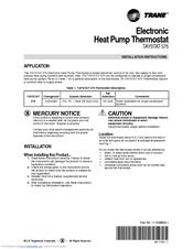 Trane Thermostat Wiring Diagram Taystat 380: Trane Thermostat Wiring Diagram Taystat 380  Trane  Free Download    ,