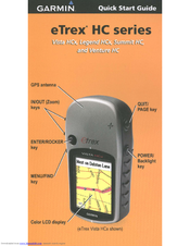 Manual garmin etrex vista hcx portugues.