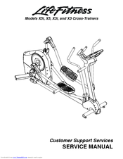 Life Fitness X5 Service Manual