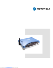 Motorola Netopia 2200 User Manual