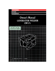 Honda EW171 Owner's Manual
