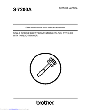 Brother S-7200A Service Manual