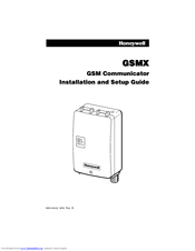 Honeywell GSMX Installation And Setup Manual