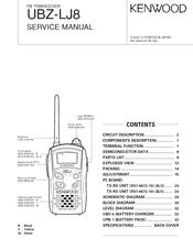 kenwood ubz lj8 manuals rh manualslib com ubZ LF14 Coflex ubZ Kit