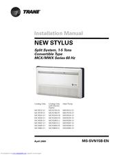 Trane Mcx524 G1 Manuals