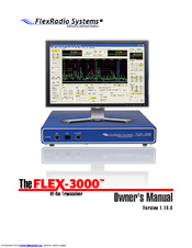 Flexradio Systems Flex-3000 Manuals