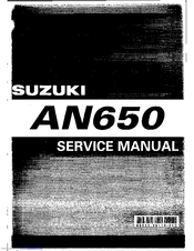 suzuki an650 manuals rh manualslib com Suzuki AN650 Service Manual Suzuki Burgman AN650 Windshield