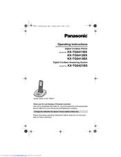 panasonic kx tga470 operating manual