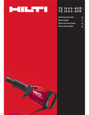 hilti te 55 instructions