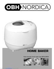 Nordica home baker modell 6572 bruksanvisning