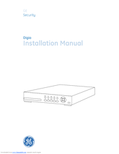 GE Digi-4 Installation Manual