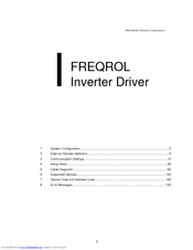 Mitsubishi Electric FREQROL Connection Manual
