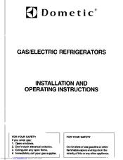 dometic rm2601 manuals rh manualslib com dometic refrigerator diagnostic service manual dometic refrigerator ndr1292 service manual