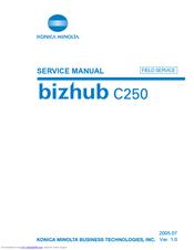 konica minolta bizhub c250 manuals rh manualslib com konica minolta bizhub c250 service manual konica minolta bizhub c250 manual network scanner operations