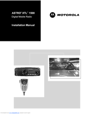Motorola XTL 1500 Installation Manual