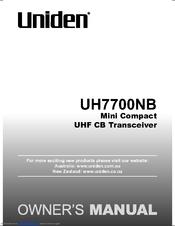 uniden uh7700nb manuals rh manualslib com Uniden Answering Machine Manual Uniden 7 Inch Tablet Manual