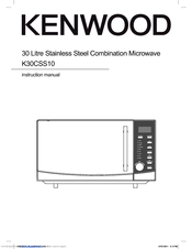 kenwood k30css10 manuals rh manualslib com microwave oven manual for emm2016w lg microwave oven manual