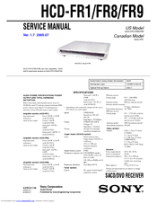 Sony dav-hdx265 hdx266 hdx267w home theater system owners manual.