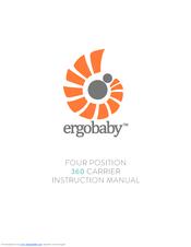 ergobaby four position 360 carrier manuals rh manualslib com ergo baby carrier instruction manual ergo baby carrier instruction manual
