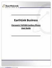 Panasonic KX TGP-500 User Manual
