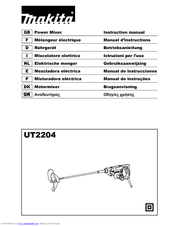 Makita UT2204 Instruction Manual
