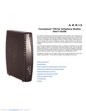 arris touchstone tm722 manuals rh manualslib com Comcast Xfinity Arris Manual arris tm722g/ct user manual