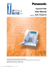 panasonic kx tda30 manuals rh manualslib com kx-tda30 installation manual panasonic kx-tda user manual