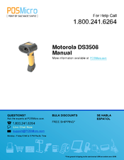 Motorola DS3508 Manual