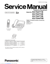 panasonic kx tg4772b manuals rh manualslib com panasonic cordless phones manuals kx-tg785 panasonic cordless phones manuals