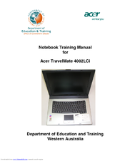 acer travelmate 4002lci manuals rh manualslib com Acer TravelMate 4060 Drivers Acer TravelMate Review