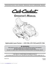 cub cadet ltx 1142 operator s manual pdf download