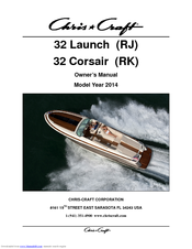 CHRIS-CRAFT 32 LAUNCH (RJ) OWNER'S MANUAL Pdf Download. on