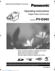 panasonic pv gs65 manuals rh manualslib com