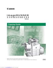 Canon imagerunner 2800 series manuals.
