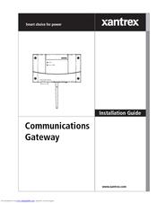 XANTREX COMMUNICATIONS GATEWAY INSTALLATION MANUAL Pdf Download. on